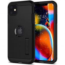 ETUI SPIGEN TOUGH ARMOR IPHONE 11 BLACK