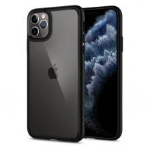 ETUI SPIGEN ULTRA HYBRID IPHONE 11 PRO MATTE BLACK