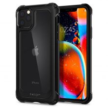 ETUI SPIGEN GAUNTLET IPHONE 11 PRO CARBON BLACK