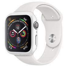 ETUI SPIGEN THIN FIT APPLE WATCH 4/5 (44MM) WHITE