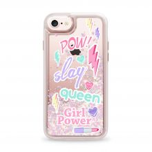 ETUI CASETIFY GLITTER CASE POWER GIRL IPHONE 6/6S (4.7) UNICORN