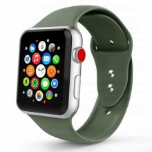 PASEK TECH-PROTECT ICONBAND APPLE WATCH 2/3/4/5/6/SE (42/44MM) ARMY GREEN