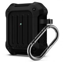 ETUI SPIGEN TOUGH ARMOR APPLE AIRPODS BLACK