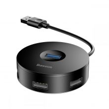 BASEUS F01 ADAPTER USB TO USB 4IN1 BLACK