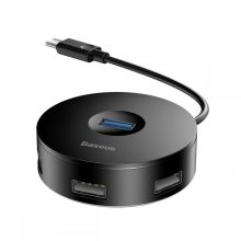 BASEUS G01 ADAPTER TYPE-C TO USB 4IN1 BLACK