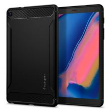 ETUI SPIGEN RUGGED ARMOR GALAXY TAB A 8.0 S-PEN 2019 P200/P205 MATTE BLACK