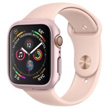 ETUI SPIGEN THIN FIT APPLE WATCH 4/5 (44MM) ROSE GOLD