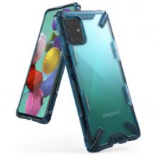 ETUI RINGKE FUSION X GALAXY A71 SPACE BLUE
