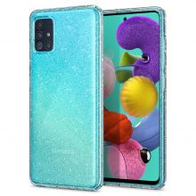 ETUI SPIGEN LIQUID CRYSTAL GALAXY A51 GLITTER CRYSTAL QUARTZ