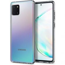 ETUI SPIGEN LIQUID CRYSTAL GALAXY NOTE 10 LITE CRYSTAL CLEAR