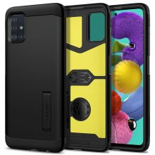 ETUI SPIGEN TOUGH ARMOR GALAXY A71 BLACK