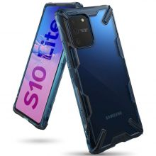 ETUI RINGKE FUSION X GALAXY S10 LITE SPACE BLUE