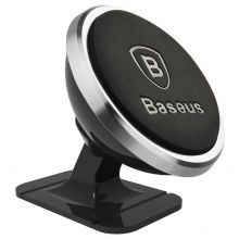 BASEUS 360 MAGNETIC CAR MOUNT SILVER