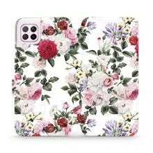 ETUI MOBIWEAR MD01S HUAWEI P40 LITE FLORAL