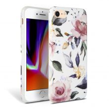 ETUI TECH-PROTECT FLORAL IPHONE 7/8/SE 2020 WHITE