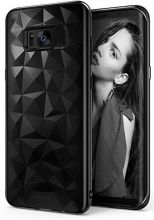 ETUI RINGKE PRISM AIR SAMSUNG GALAXY S8 PLUS BLACK DIAMOND