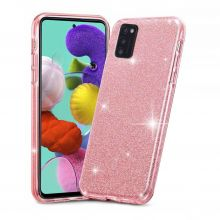 ETUI TECH-PROTECT GLITTER SHINE GALAXY A41 PINK