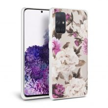 ETUI TECH-PROTECT FLORAL GALAXY A41 BEIGE