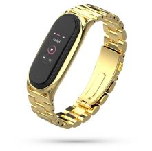BRANSOLETA TECH-PROTECT STAINLESS XIAOMI MI SMART BAND 5/6 GOLD