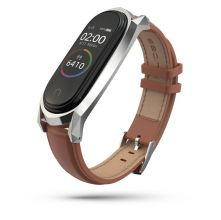 PASEK TECH-PROTECT HERMS XIAOMI MI SMART BAND 5/6 BROWN