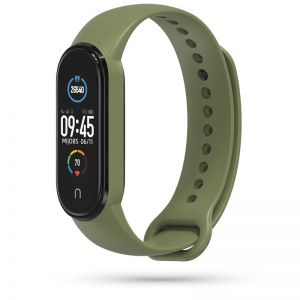 PASEK TECH-PROTECT ICONBAND XIAOMI MI SMART BAND 5 MILITARY GREEN