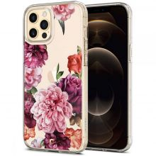 ETUI SPIGEN CYRILL CECILE IPHONE 12/12 PRO ROSE FLORAL