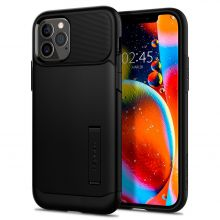 ETUI SPIGEN SLIM ARMOR IPHONE 12/12 PRO BLACK