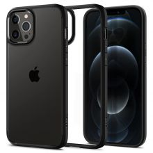 ETUI SPIGEN ULTRA HYBRID IPHONE 12 PRO MAX MATTE BLACK