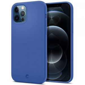 ETUI SPIGEN CYRILL SILICONE IPHONE 12 PRO MAX NAVY