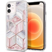 ETUI SPIGEN CYRILL CECILE IPHONE 12 MINI PINK MARBLE