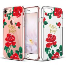 ETUI ESR ART CASE IPHONE 7/8 RED ROSES