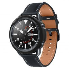 ETUI SPIGEN LIQUID AIR GALAXY WATCH 3 45MM MATTE BLACK