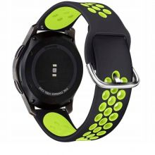PASEK TECH-PROTECT SOFTBAND SAMSUNG GALAXY WATCH 3 45MM BLACK/LIME