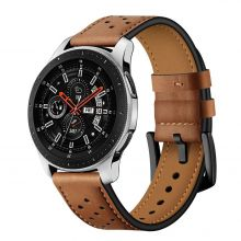 PASEK TECH-PROTECT LEATHER SAMSUNG GALAXY WATCH 3 41MM BROWN