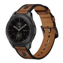 PASEK TECH-PROTECT SCREWBAND SAMSUNG GALAXY WATCH 3 45MM BROWN