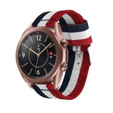 PASEK TECH-PROTECT WELLING SAMSUNG GALAXY WATCH 3 45MM NAVY/RED