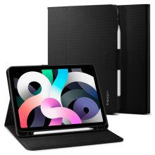 ETUI SPIGEN LIQUID AIR FOLIO IPAD AIR 4 2020 BLACK