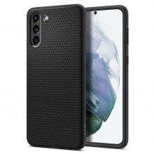 ETUI SPIGEN LIQUID AIR GALAXY S21 MATTE BLACK