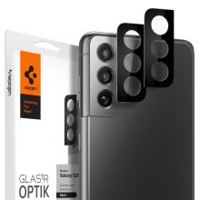SZKŁO HARTOWANE SPIGEN OPTIK.TR CAMERA LENS GALAXY S21+ PLUS BLACK