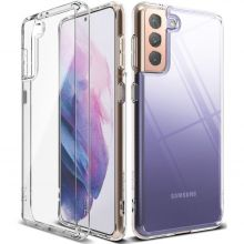 ETUI RINGKE FUSION GALAXY S21+ PLUS CLEAR