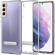 "ETUI SPIGEN ULTRA HYBRID ""S"" GALAXY S21+ PLUS CRYSTAL CLEAR"