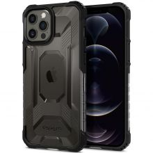 ETUI SPIGEN NITRO FORCE IPHONE 12 PRO MAX MATTE BLACK
