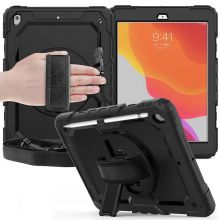 ETUI TECH-PROTECT SOLID360 IPAD 7/8 10.2 2019/2020 BLACK