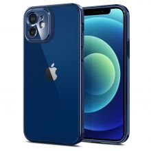 ETUI SPIGEN OPTIK CRYSTAL IPHONE 12 CHROME BLUE