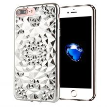 ETUI CASSY DIAMOND IPHONE 7/8 PLUS SILVER