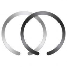 ESR HALOLOCK MAGSAFE UNIVERSAL MAGNETIC RING BLACK & SILVER