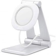 "SPIGEN MAGFIT ""S"" APPLE MAGSAFE CHARGER STAND WHITE"