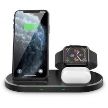 ŁADOWARKA INDUKCYJNA TECH-PROTECT W55 WIRELESS CHARGING STATION BLACK