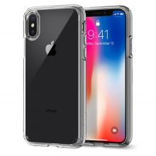 ETUI SPIGEN ULTRA HYBRID IPHONE X/10 CRYSTAL CLEAR