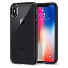 ETUI SPIGEN ULTRA HYBRID IPHONE X/10 BLACK